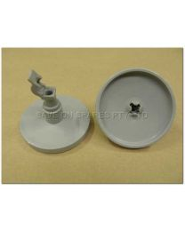 ROLLER ASSEMBLY LOWER BASKET GREY